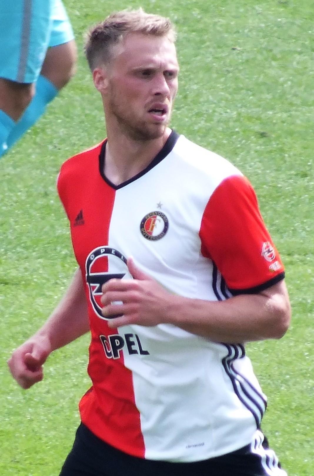 Photo de Nicolai Jørgensen avec un hauteur de 190 cm et à l'age de 27 en 2018