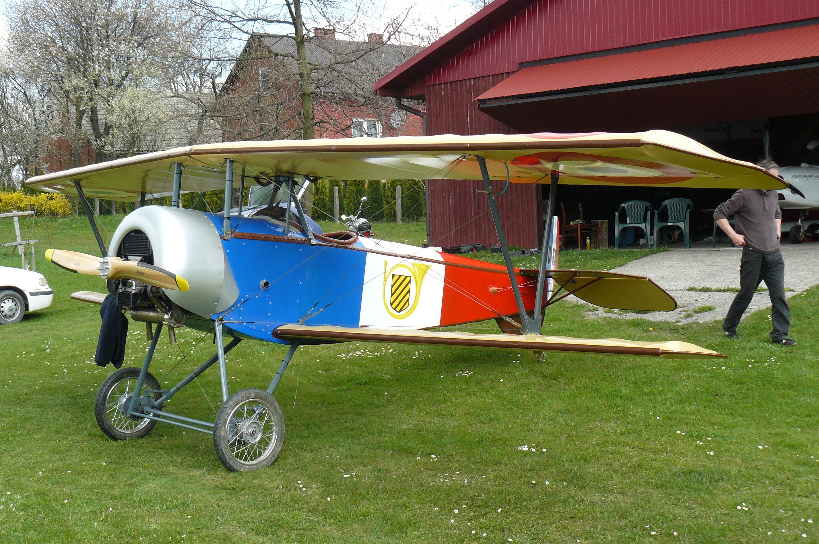 File:Nieuport 11, replika, ultralight.JPG