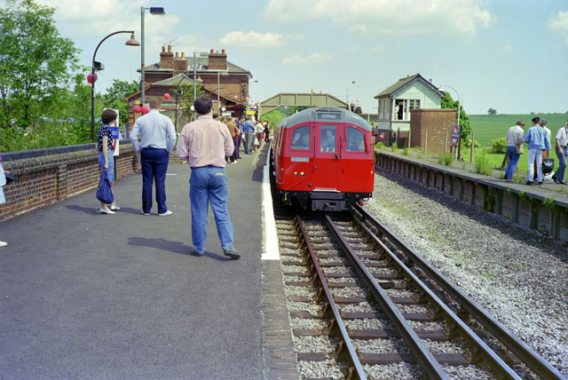 North Weald station - 125th anniversary day - geograph.org.uk - 1615606