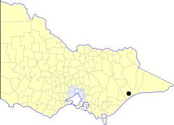 City of Bairnsdale Local government area in Victoria, Australia