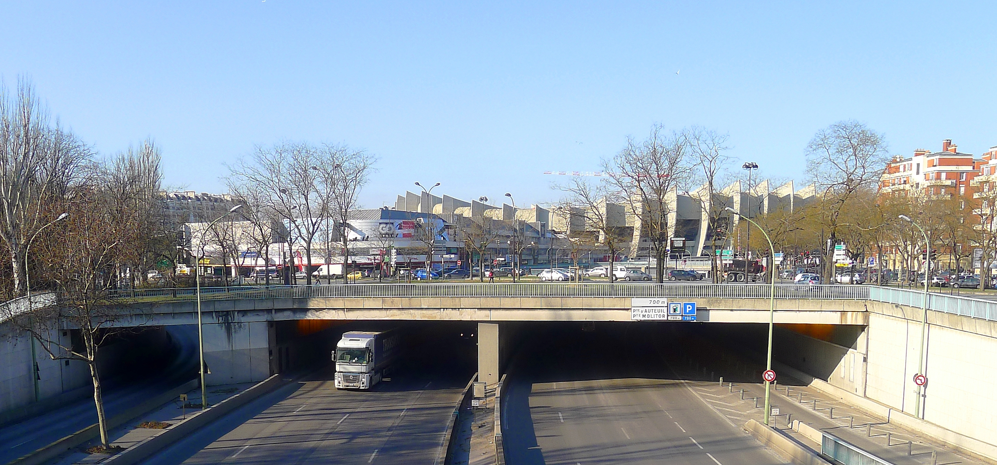 Fichier p1080223 paris xvi boulevard p riph rique tunnel - Porte peripherique paris ...