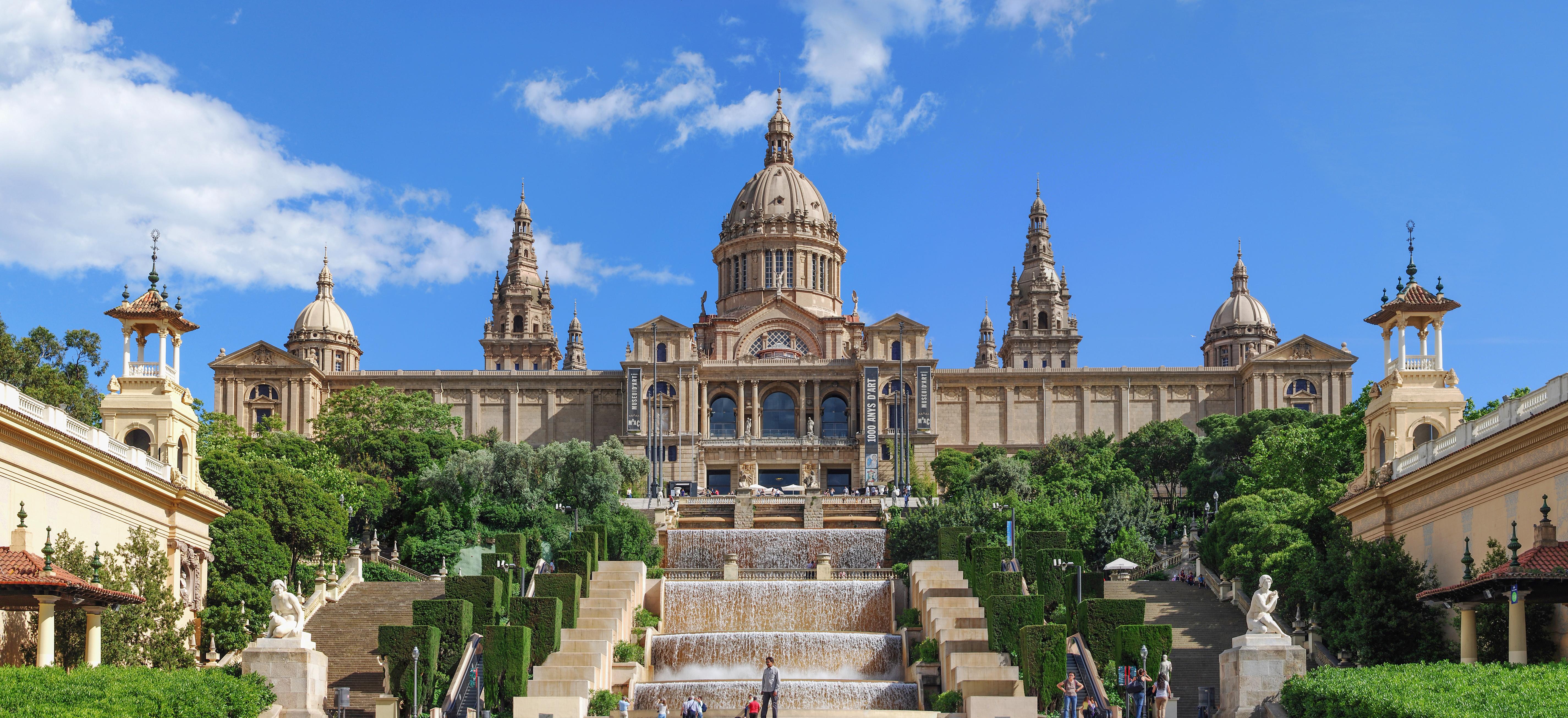 Fitxer palau nacional barcelona pano viquip dia - Palau de les heures ...