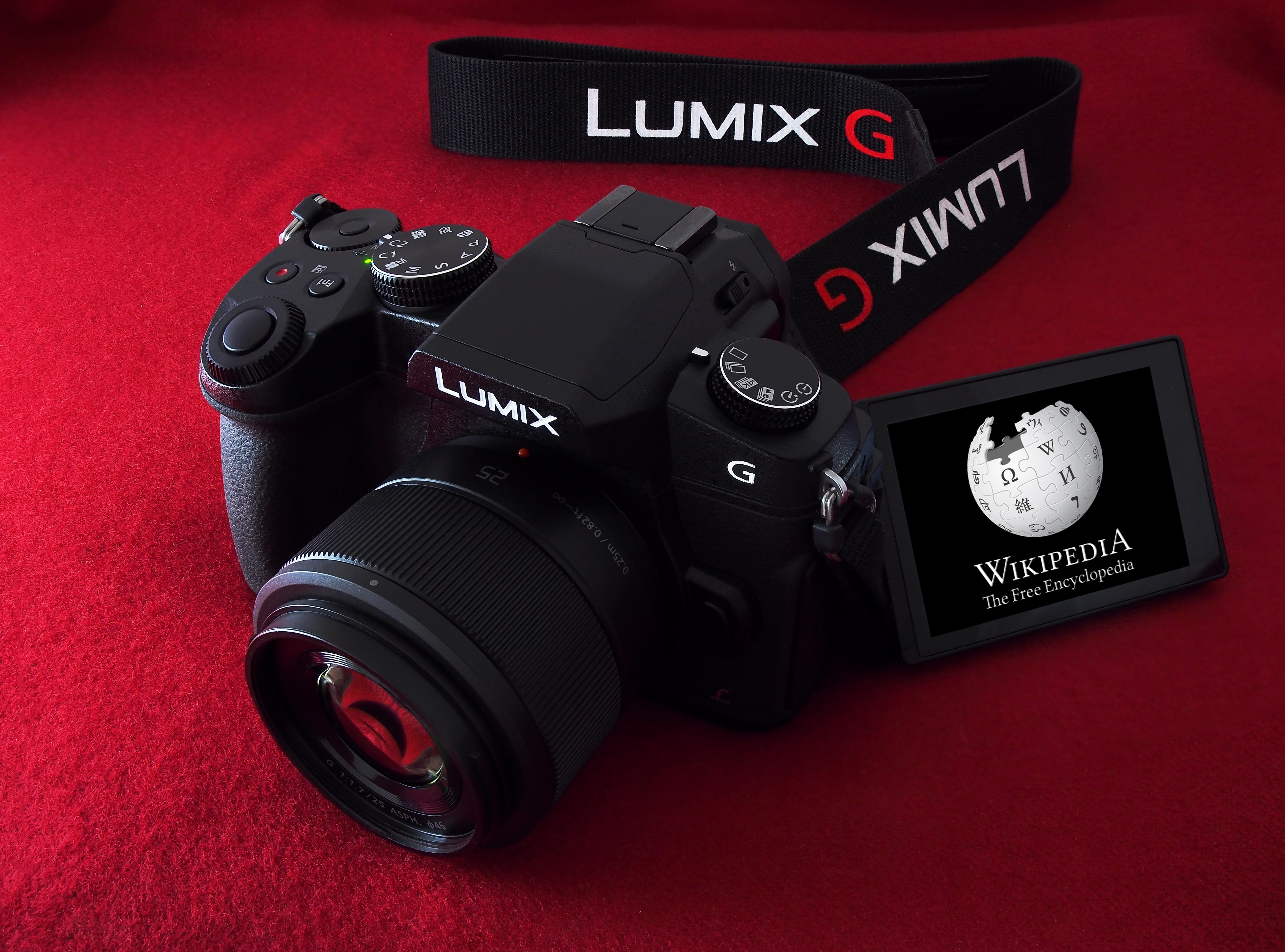 Panasonic Lumix DMC-G85/G80 - Wikipedia