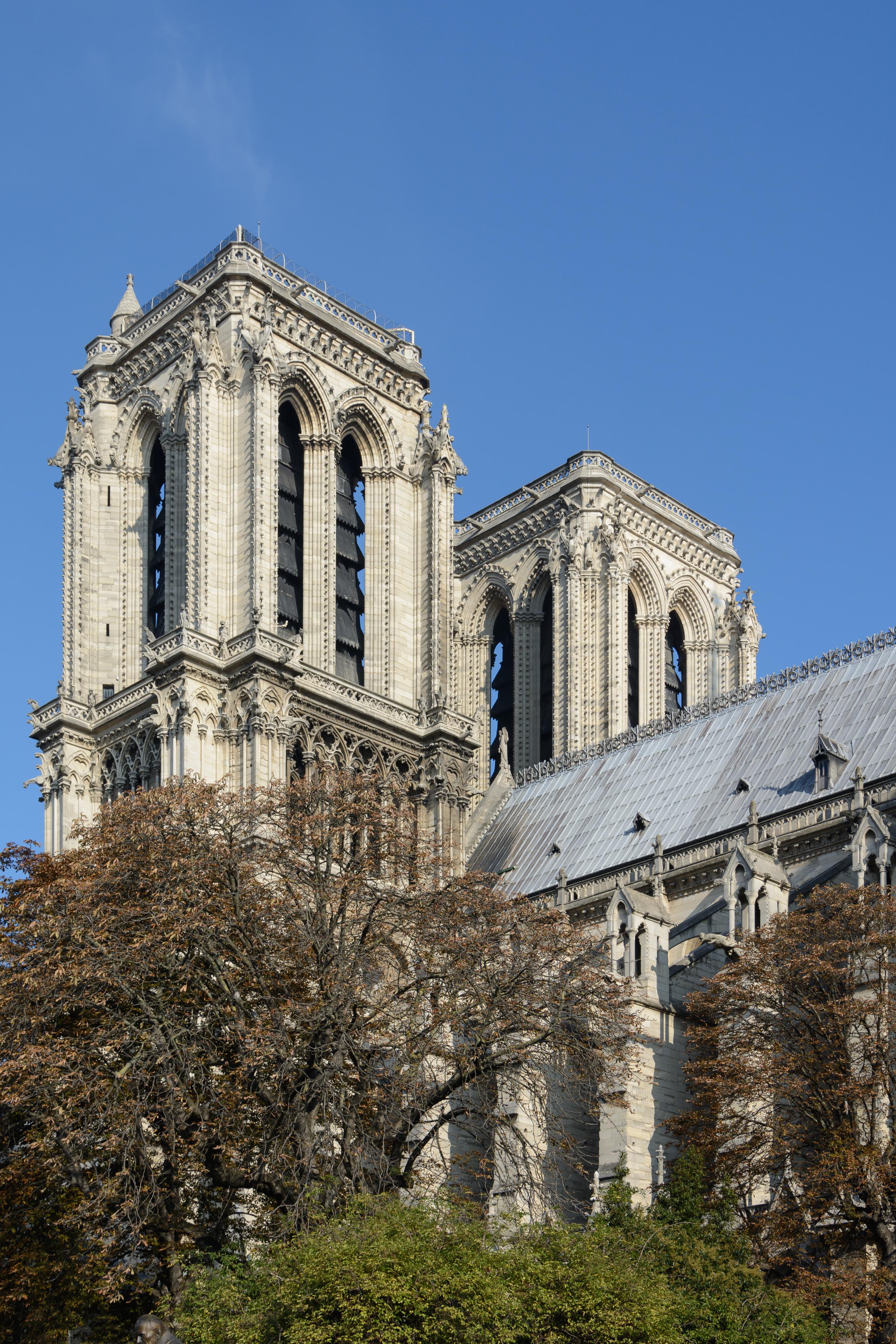 Notre Dame Schüsse