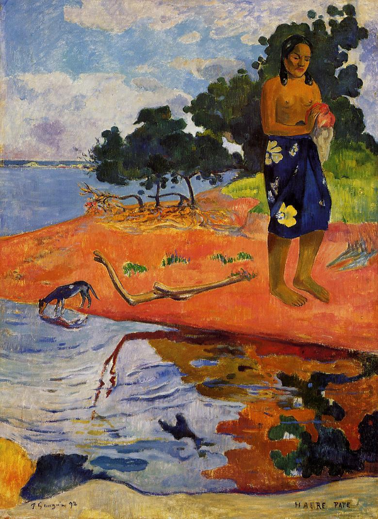 File:Paul Gauguin Haere Pape.jpg - Wikipedia