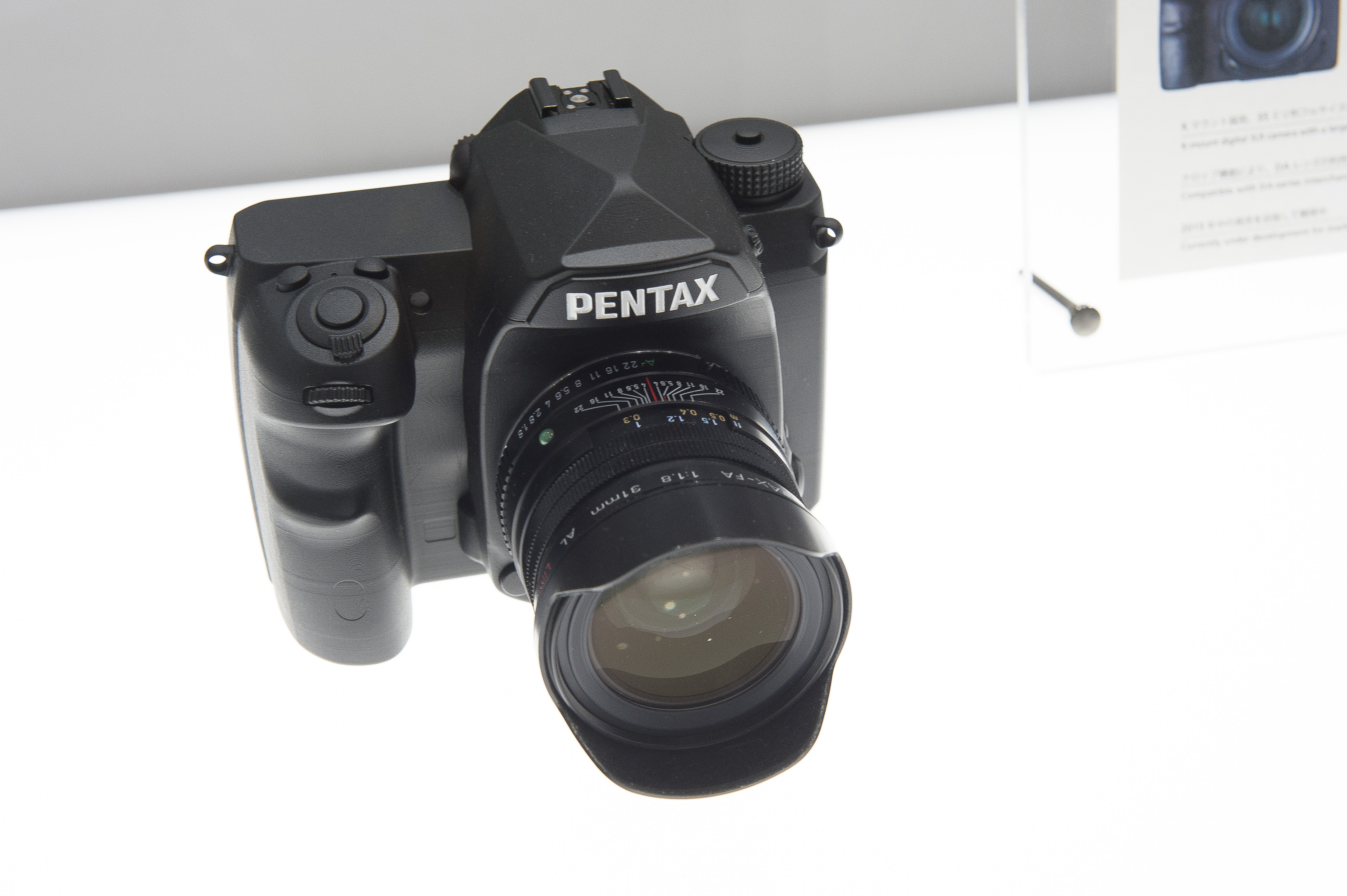 File:Pentax full-frame DSLR mock-up 01.jpg - Wikimedia Commons