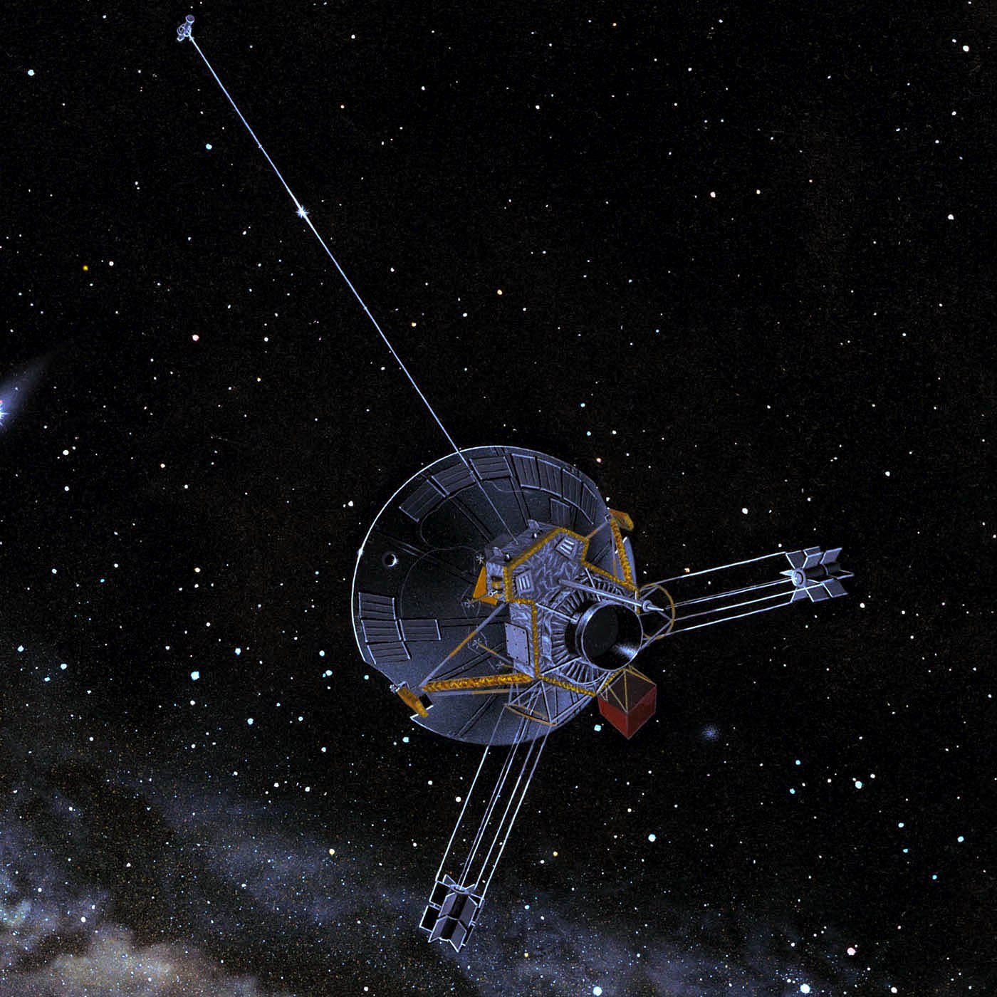 wind mission probe space - photo #22