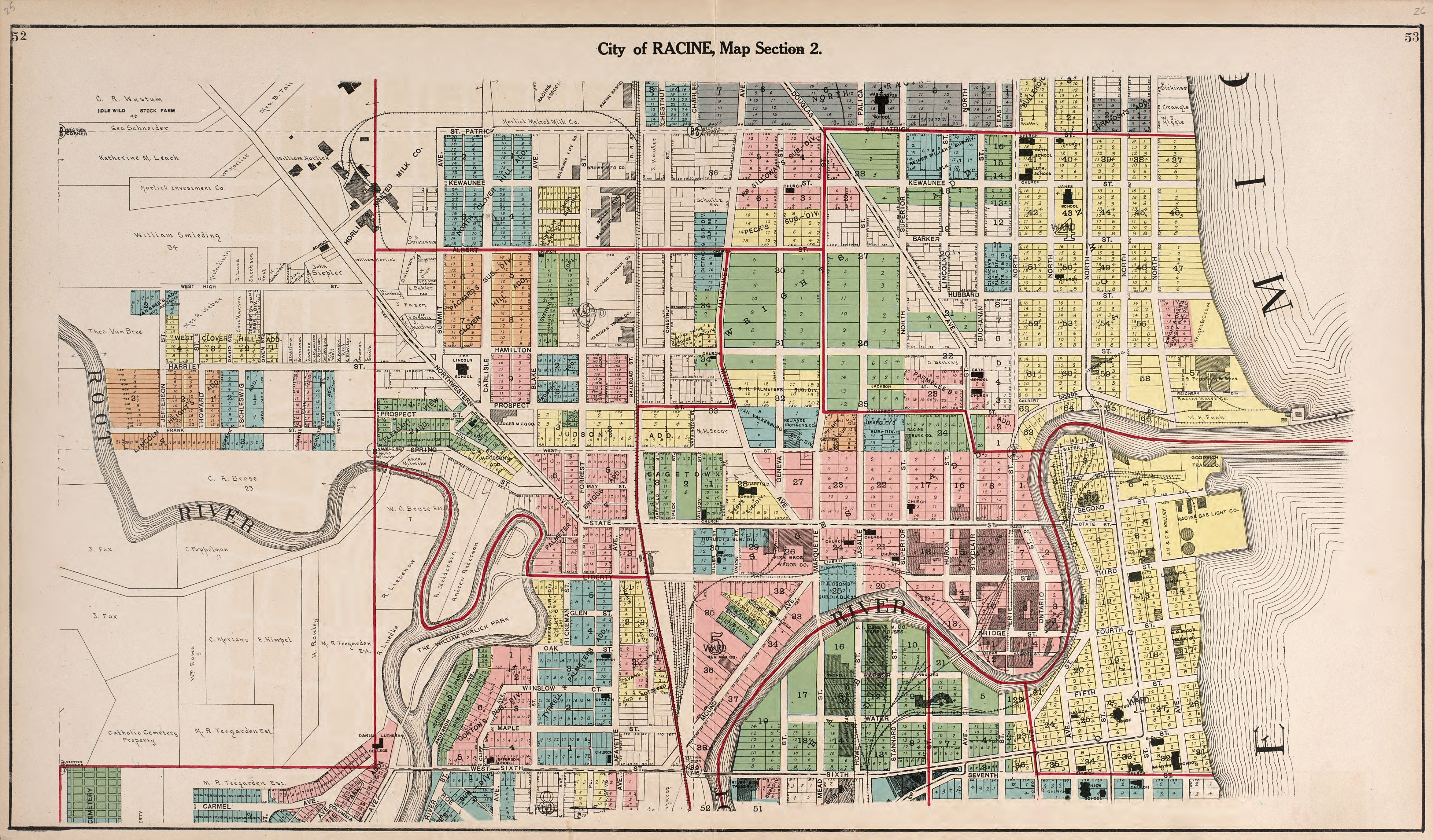 File:Plat book of Racine and Kenosha counties, Wisconsin - including on albany state map, green state map, iowa state map, oakland state map, arlington state map, corpus christi state map, oshkosh state map, galveston state map, billings state map, rochester state map, scranton state map, harvard state map, dayton state map, montgomery state map, lake county state map, tulsa state map, peoria state map, spokane state map, aurora state map, allentown state map,