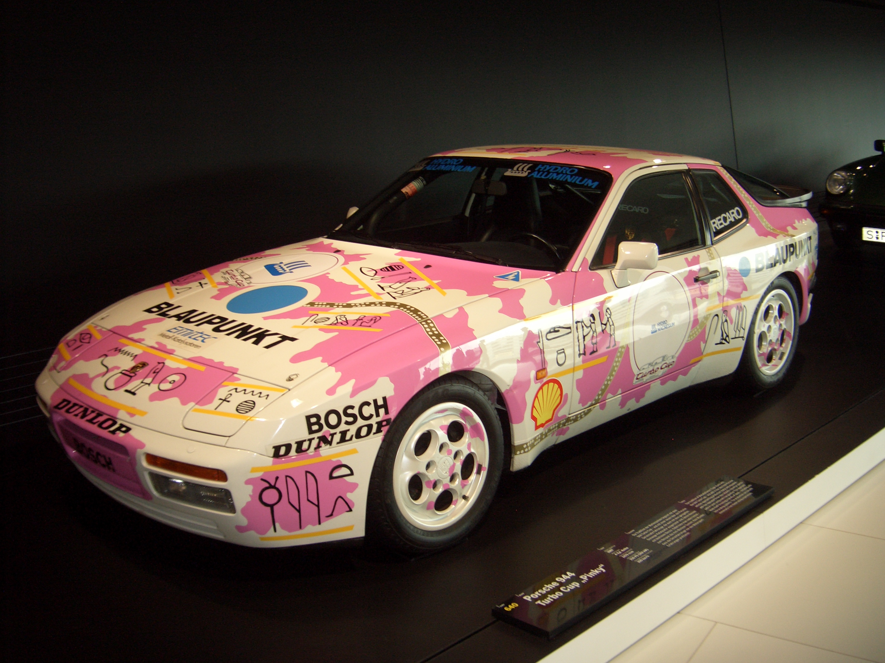 File Porsche 944 Turbo Cup Coupe 1986 Frontleft 2009 03 14 A Jpg Wikipedia