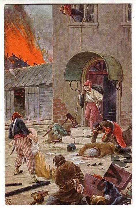 BORIS ZVORYKINE (1872-1942(?)) Postcard_by_B.Zvorykin_29