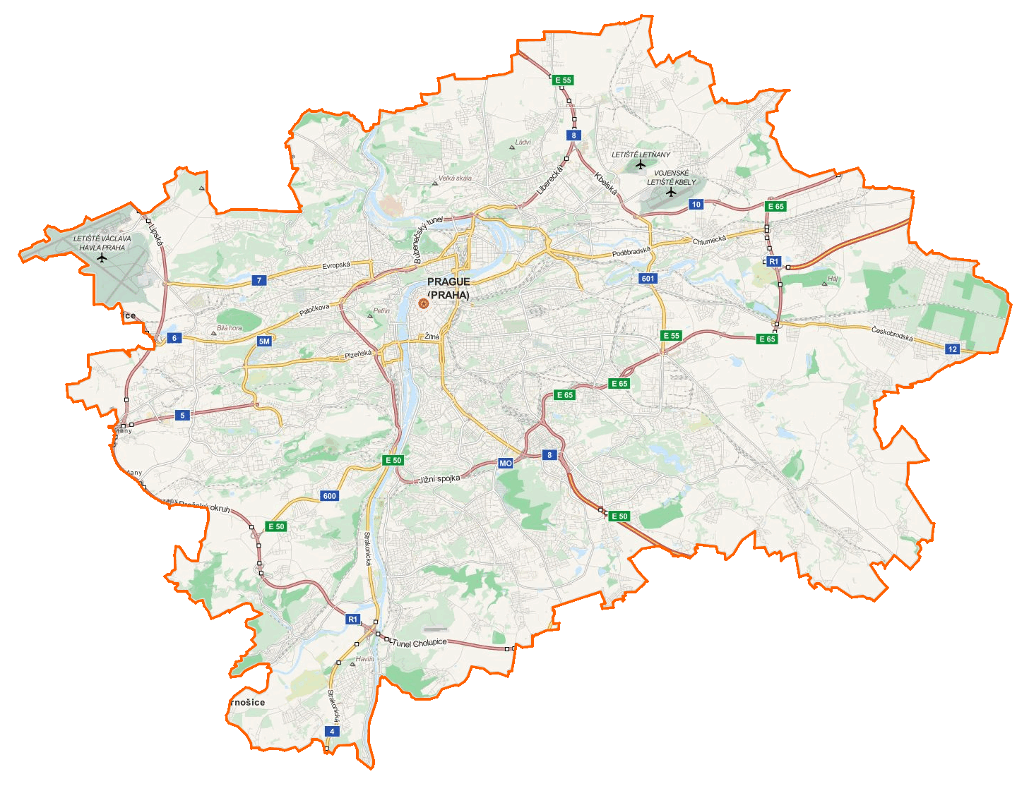File prague location wikimedia commons for Prague location