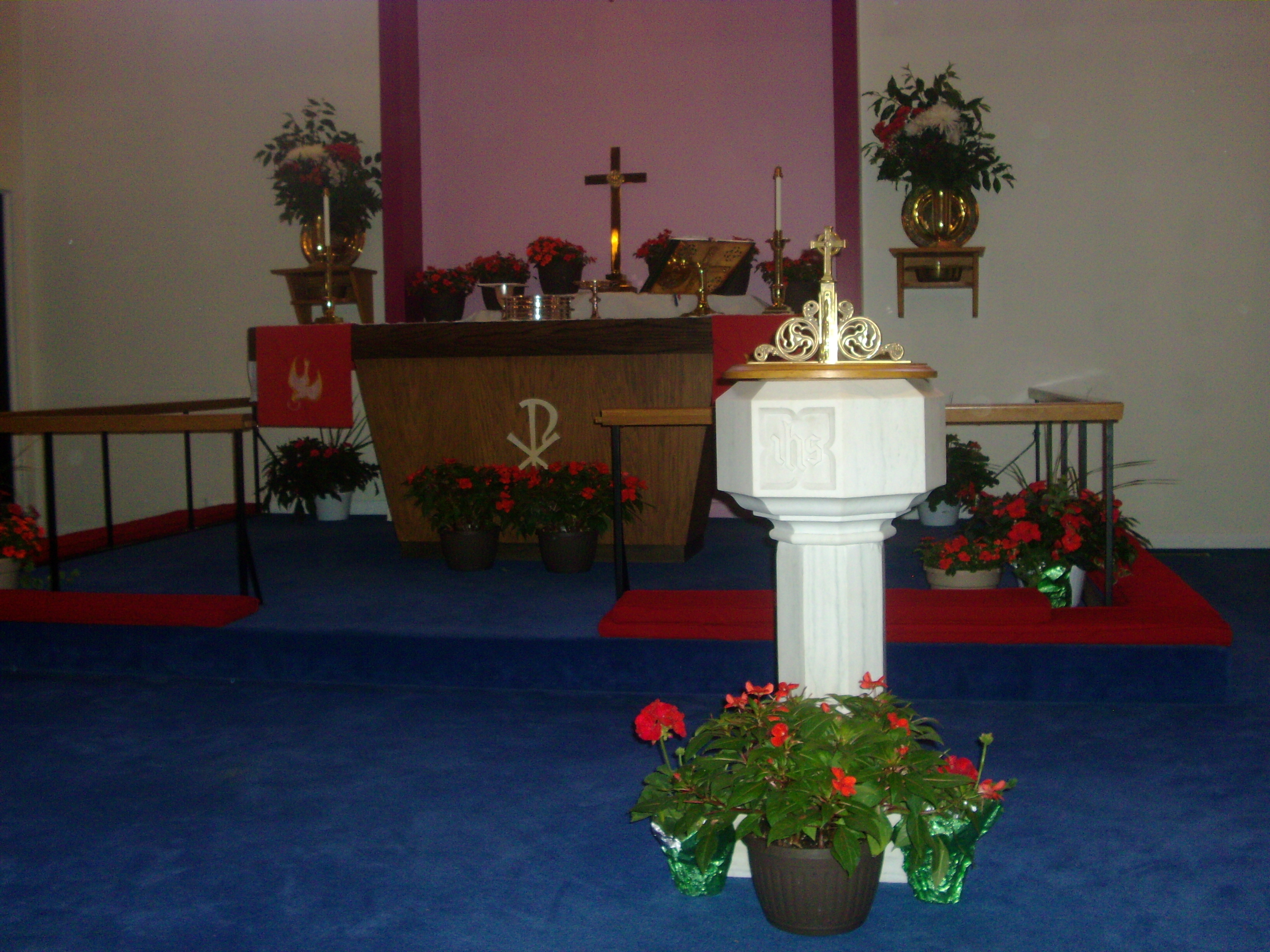 For Church To Decorate The Sanctuary. Decorating Ideas For Church ...