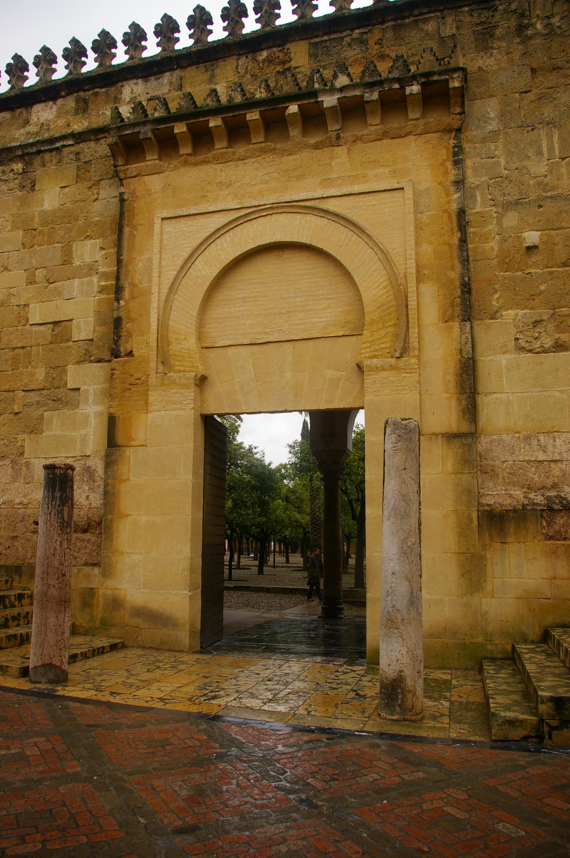 File Puerta De Los Deanes De La Mezquita De C Rdoba