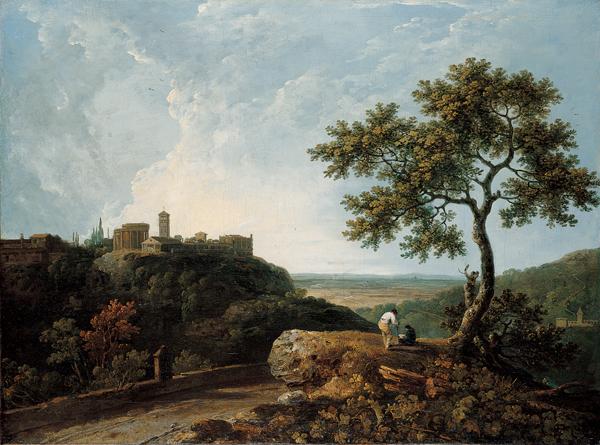 File:Richard Wilson, 'Tivoli- The Temple of the Sybil and the