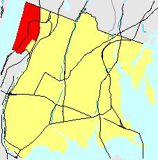Location of Riverdale in the Bronx