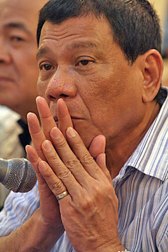 English: Rodrigo R. Duterte, Mayor of Davao Ci...