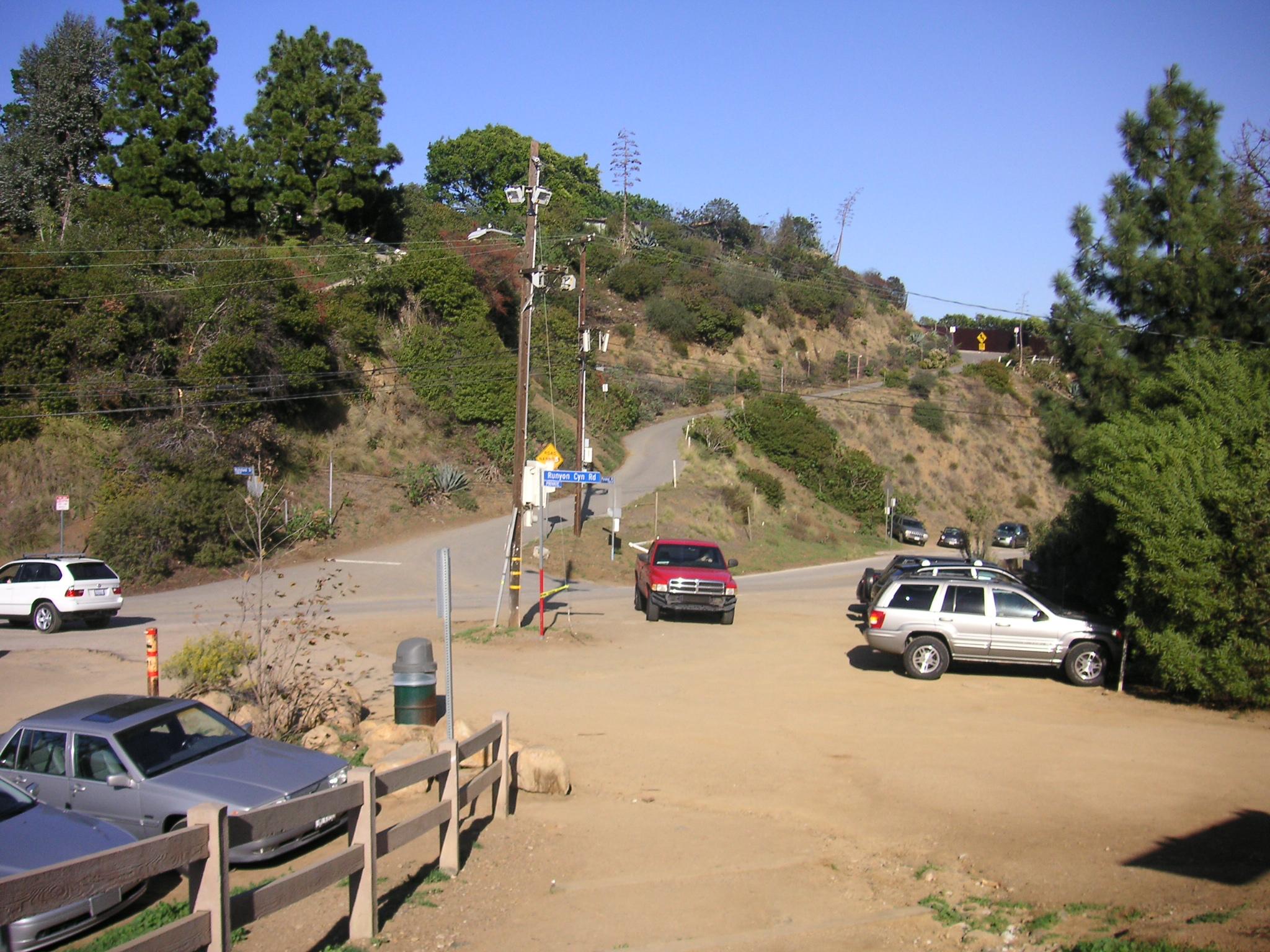 Dog Park Under Hollywood Sign