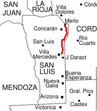 ruta provincial 1  san luis
