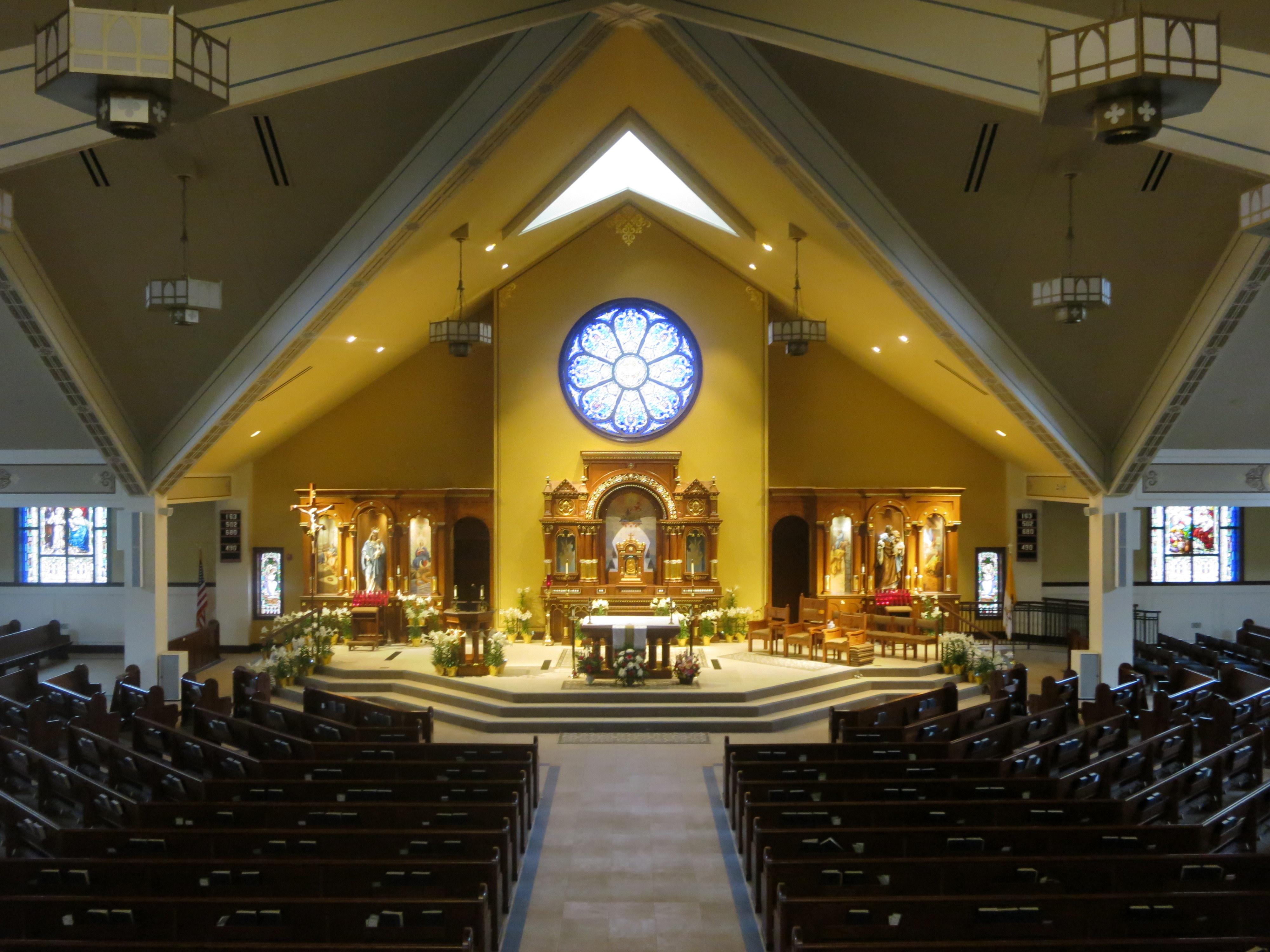 Filesaint John Neumann Catholic Church Sunbury Ohio View From The