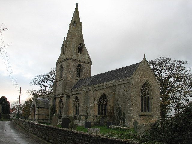 Saint Thomas Of Canterbury's Church, Aunsby. - geograph.org.uk - 87345