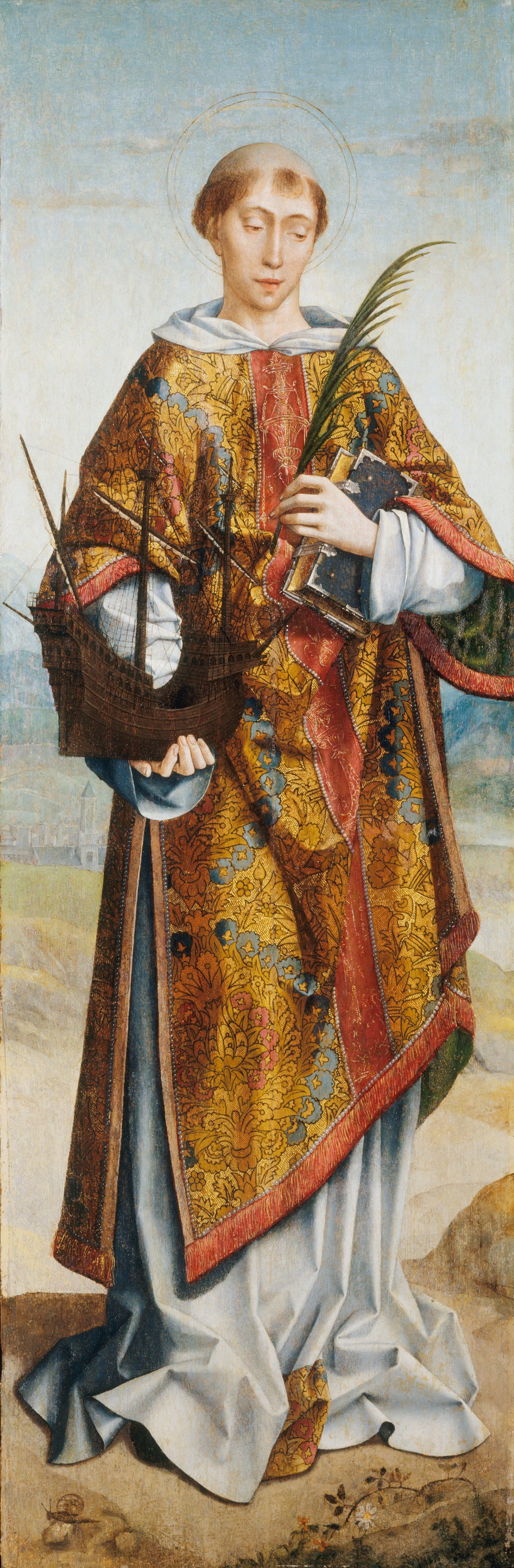 https://upload.wikimedia.org/wikipedia/commons/5/54/Saint_Vincent%2C_Patron_Saint_of_Lisbon%2C_by_Frei_Carlos.png