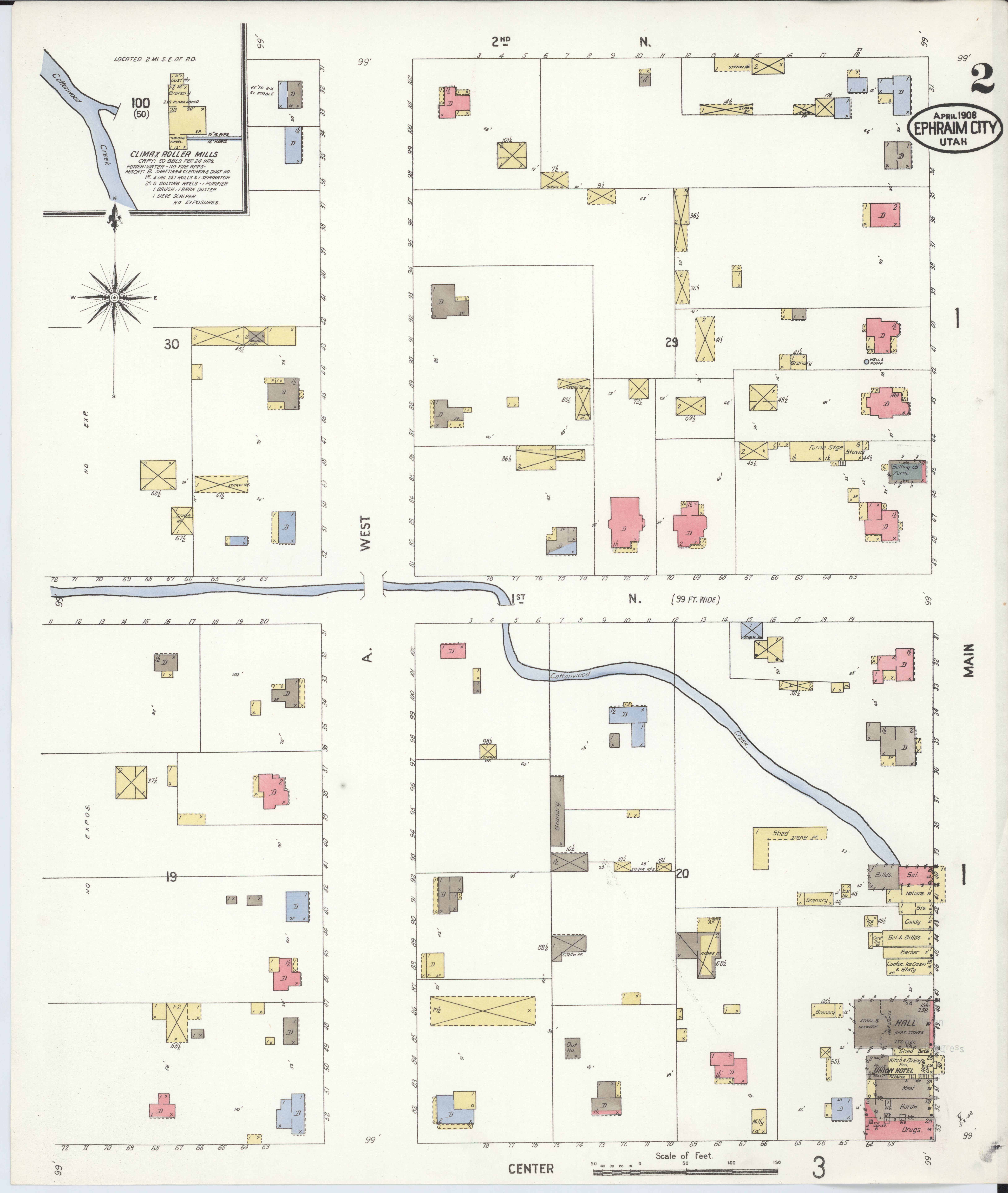 Sanpete County Utah Map.File Sanborn Fire Insurance Map From Ephraim Sanpete County Utah