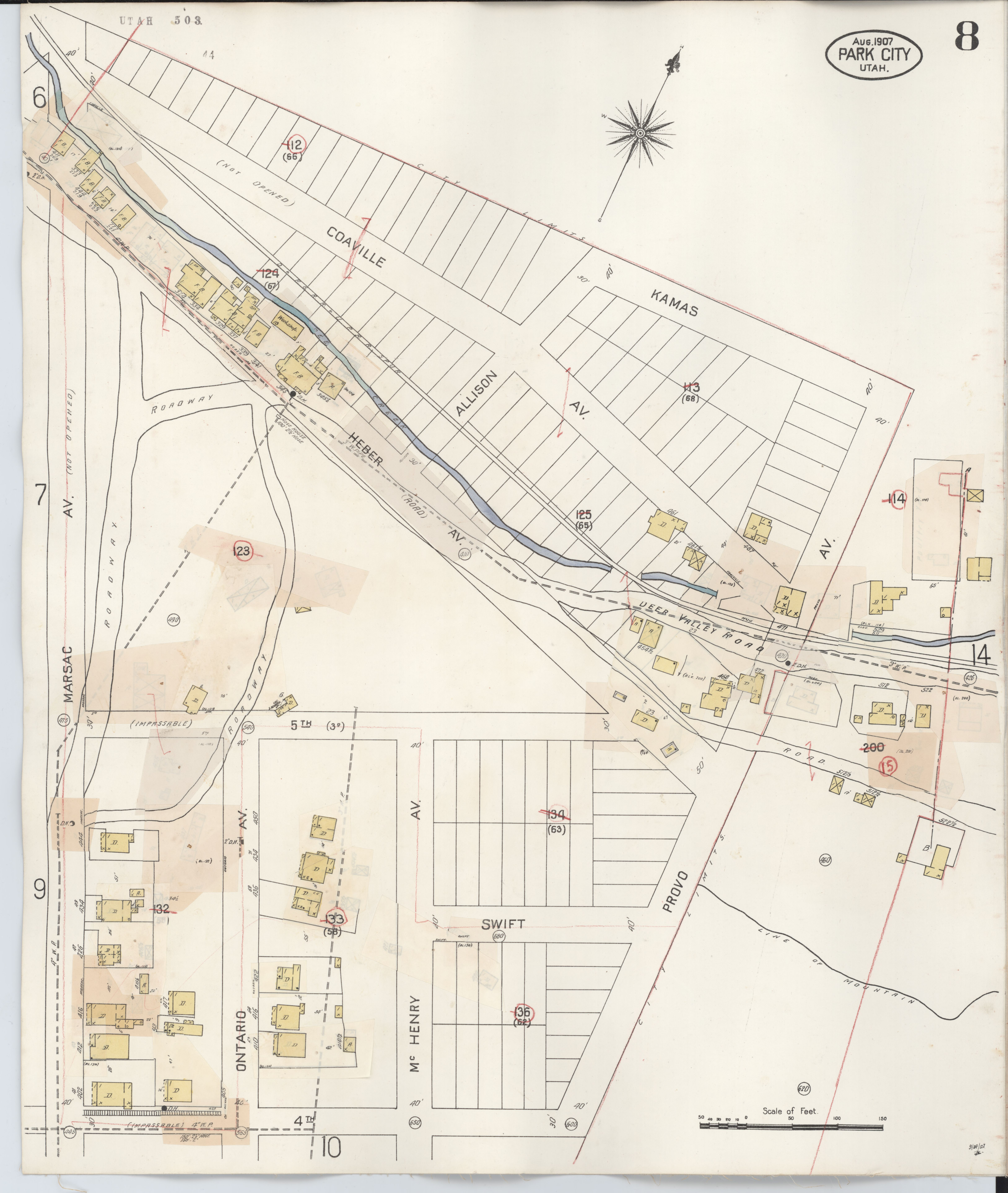 File:Sanborn Fire Insurance Map From Park City, Summit
