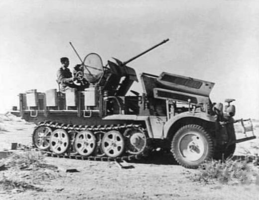 File:SdKfz 10.4 captured in Africa 1942.jpg