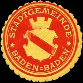 File:Siegelmarke Stadtgemeinde Baden-Baden W0313352.jpg