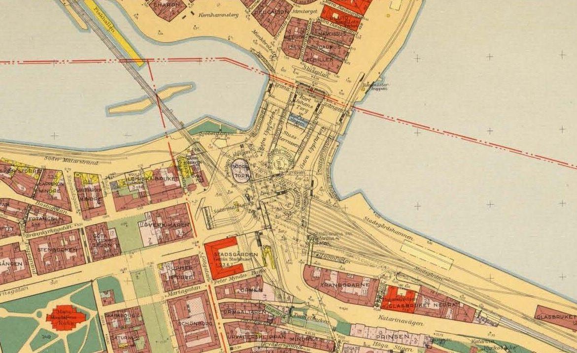 File Slussen Stockholm Karta 1938 1940 Jpg Wikimedia Commons