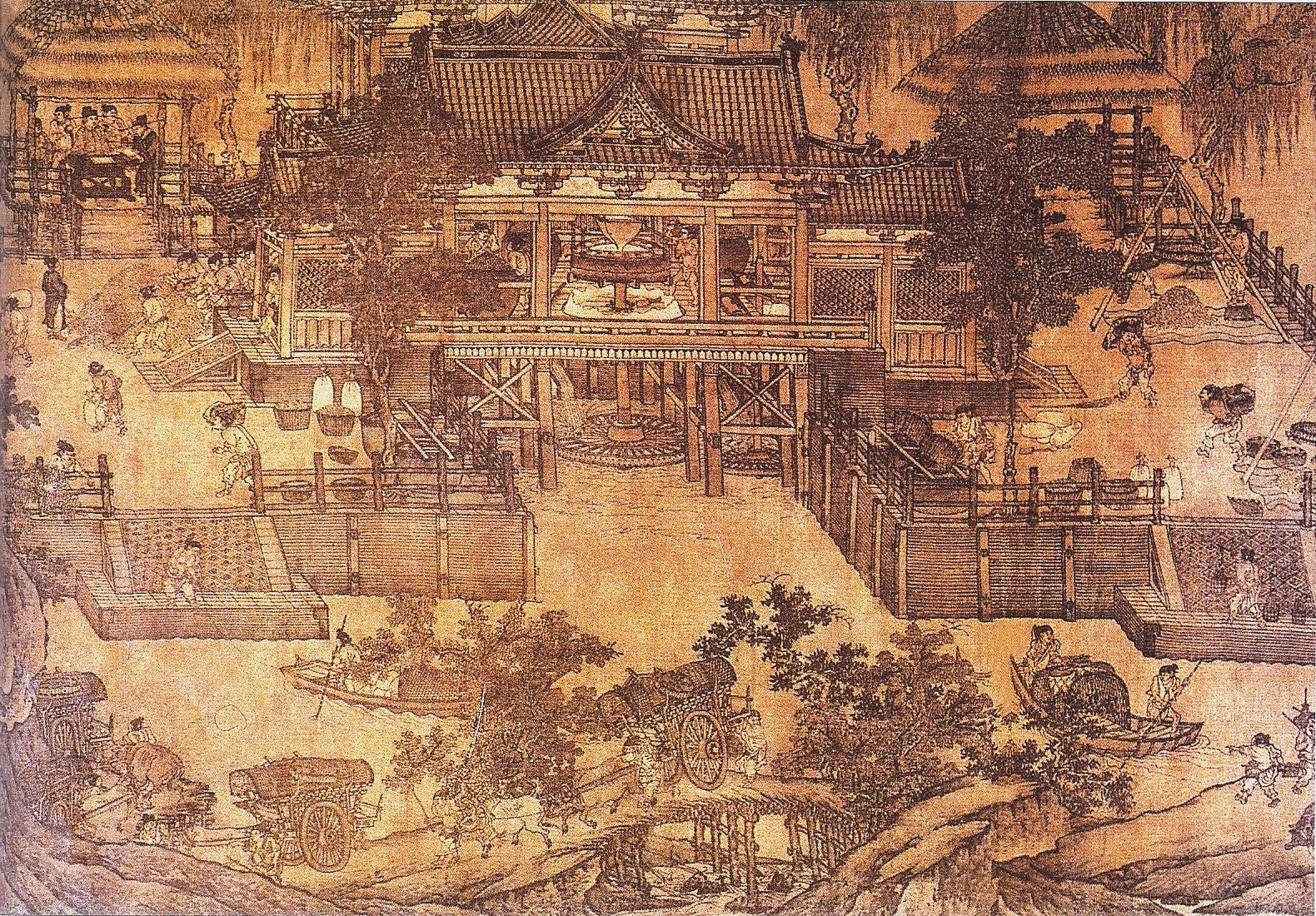 filesong dynasty grain milljpg ��������������������
