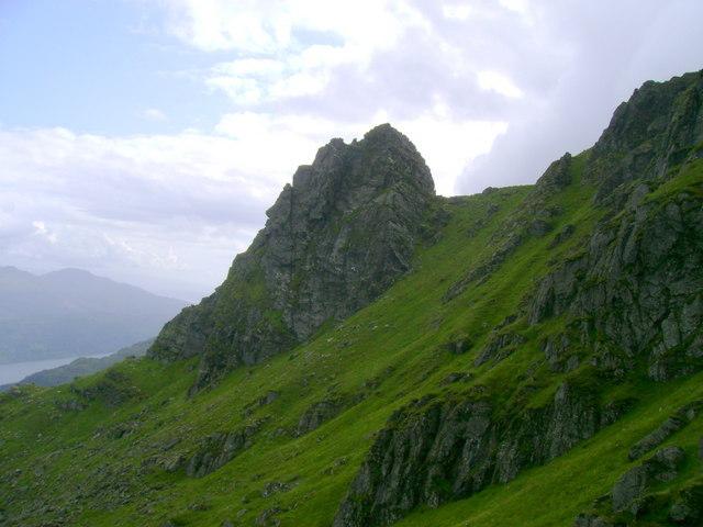 South Peak of The Cobbler - geograph.org.uk - 1431248