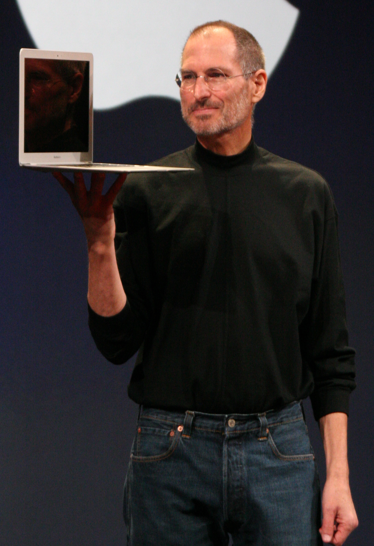 Wikimedia picture of Steve Jobs