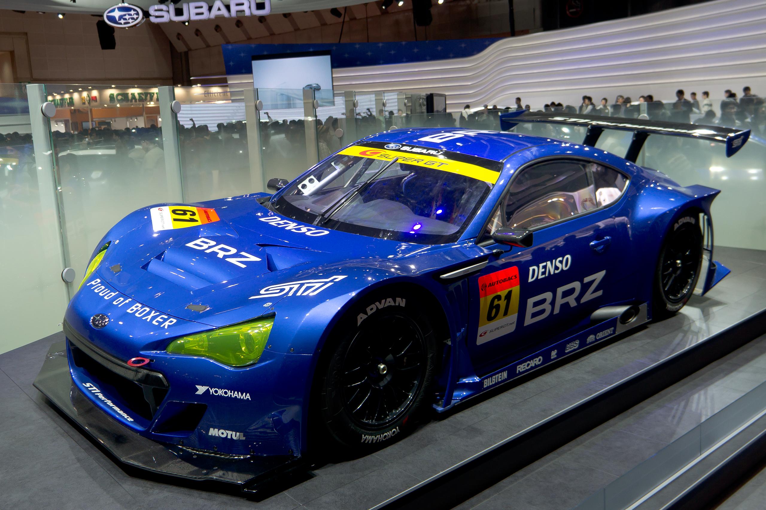 File:Subaru BRZ GT300 front 2011 Tokyo Motor Show.jpg ...
