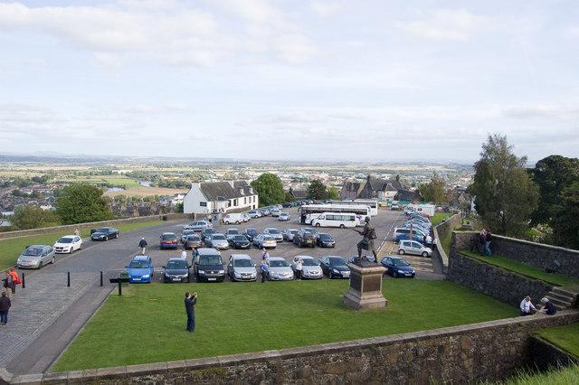 The Esplanade, Stirling Castle - geograph.org.uk - 1497357