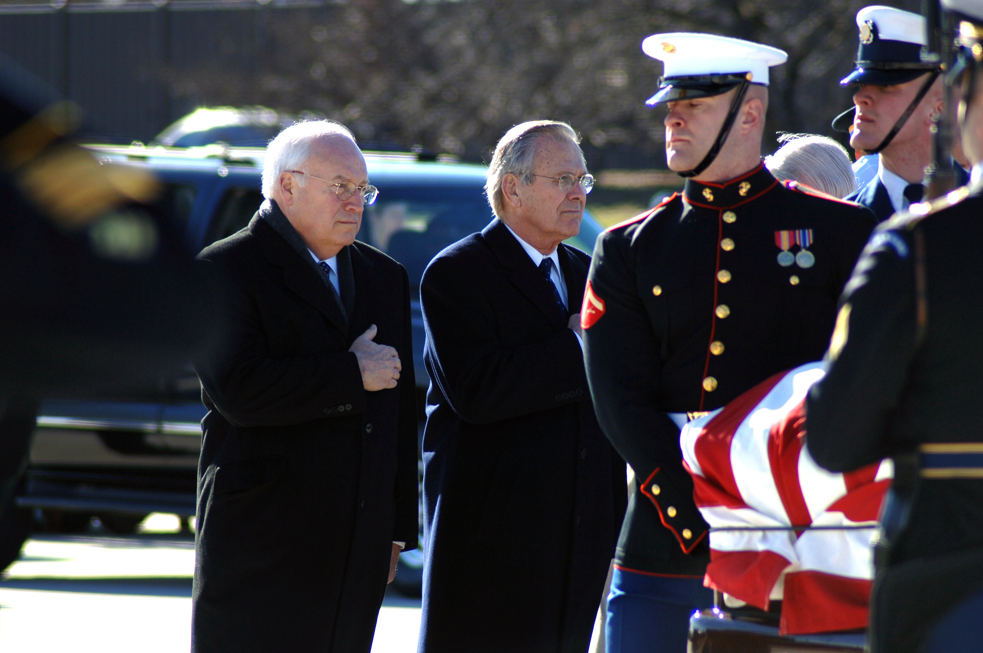 File The Honorable Dick Cheney Left Vice President Of