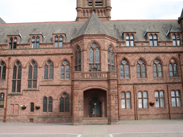 The Town Hall at Barrow-in-Furness - geograph.org.uk - 1512056