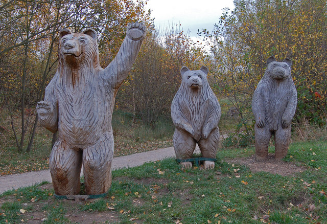 Three bears come calling