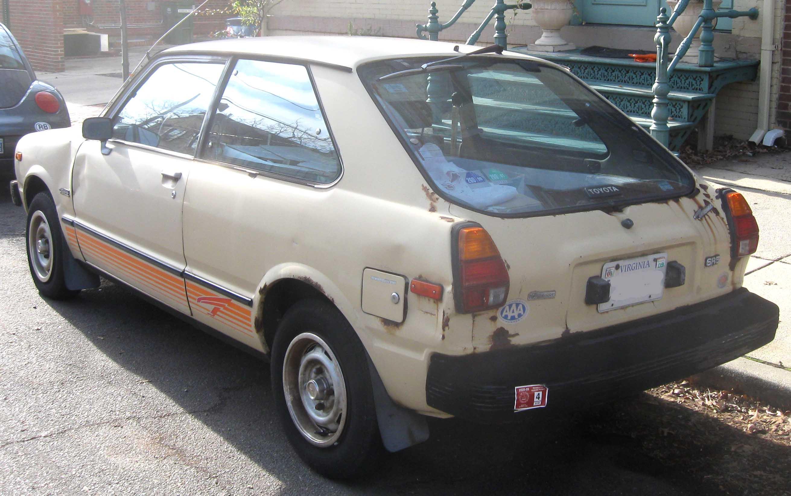 File Toyota Corolla Tercel Hatchback Sr5 Rear Jpg