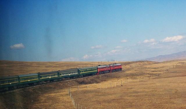 Le transmongol à travers le désert de Gobi