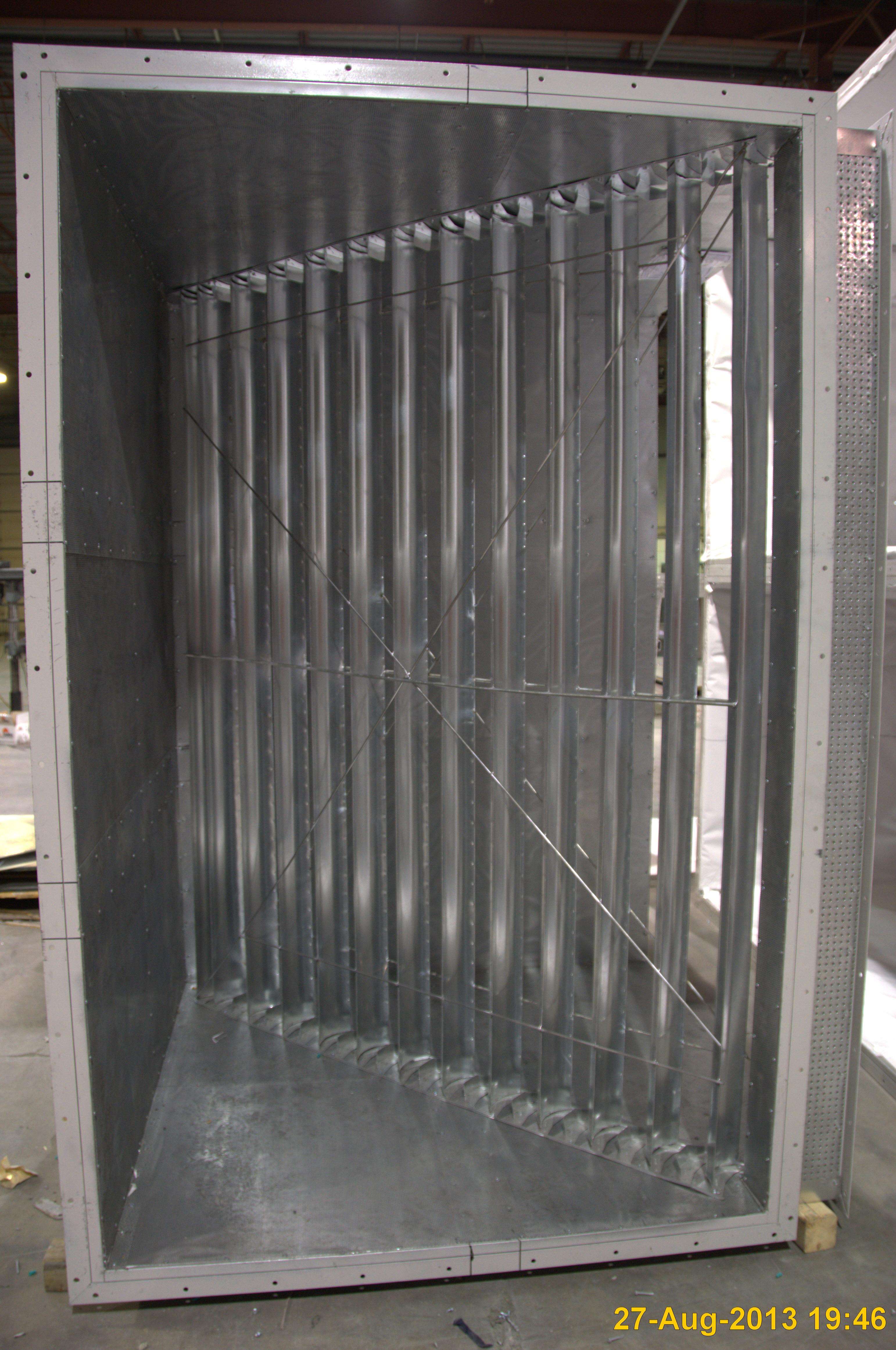 Rectangular HVAC Duct #6E665D