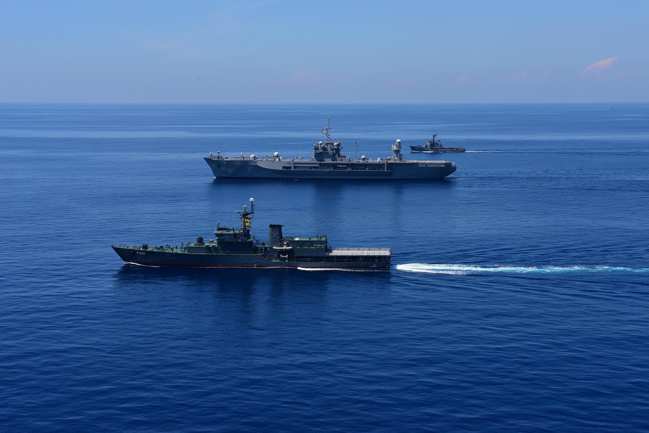 India and Sri Lanka Begin Joint Naval Exercise SLINEX 2017