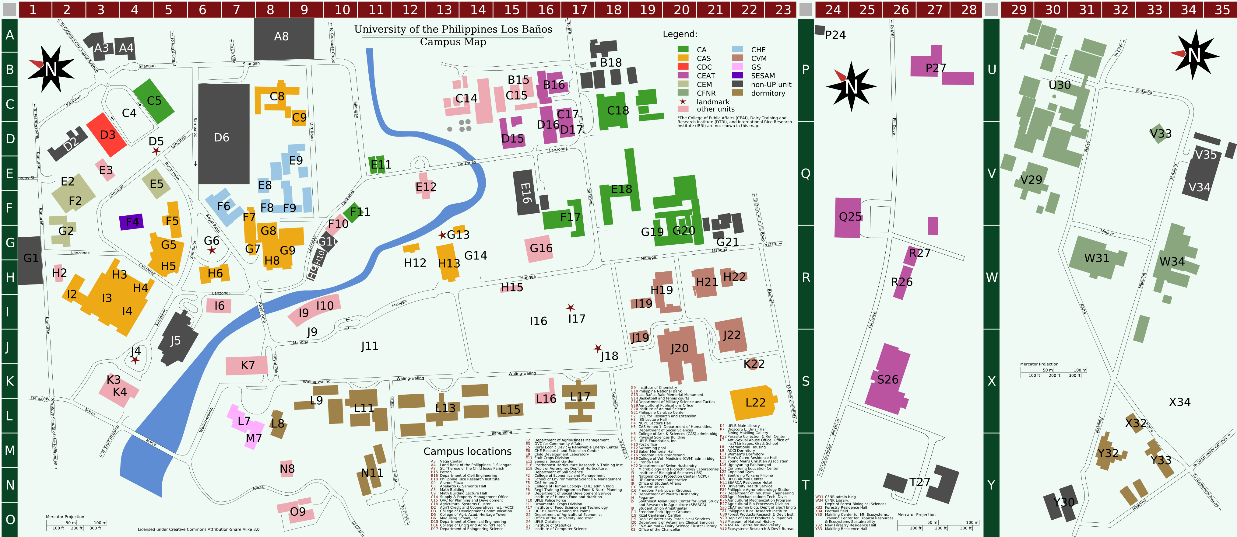 File:UPLB Campus map.png - Wikimedia Commons