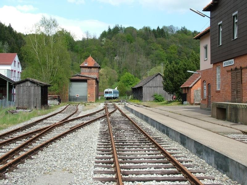 Untergröningen Bahnhof 2004