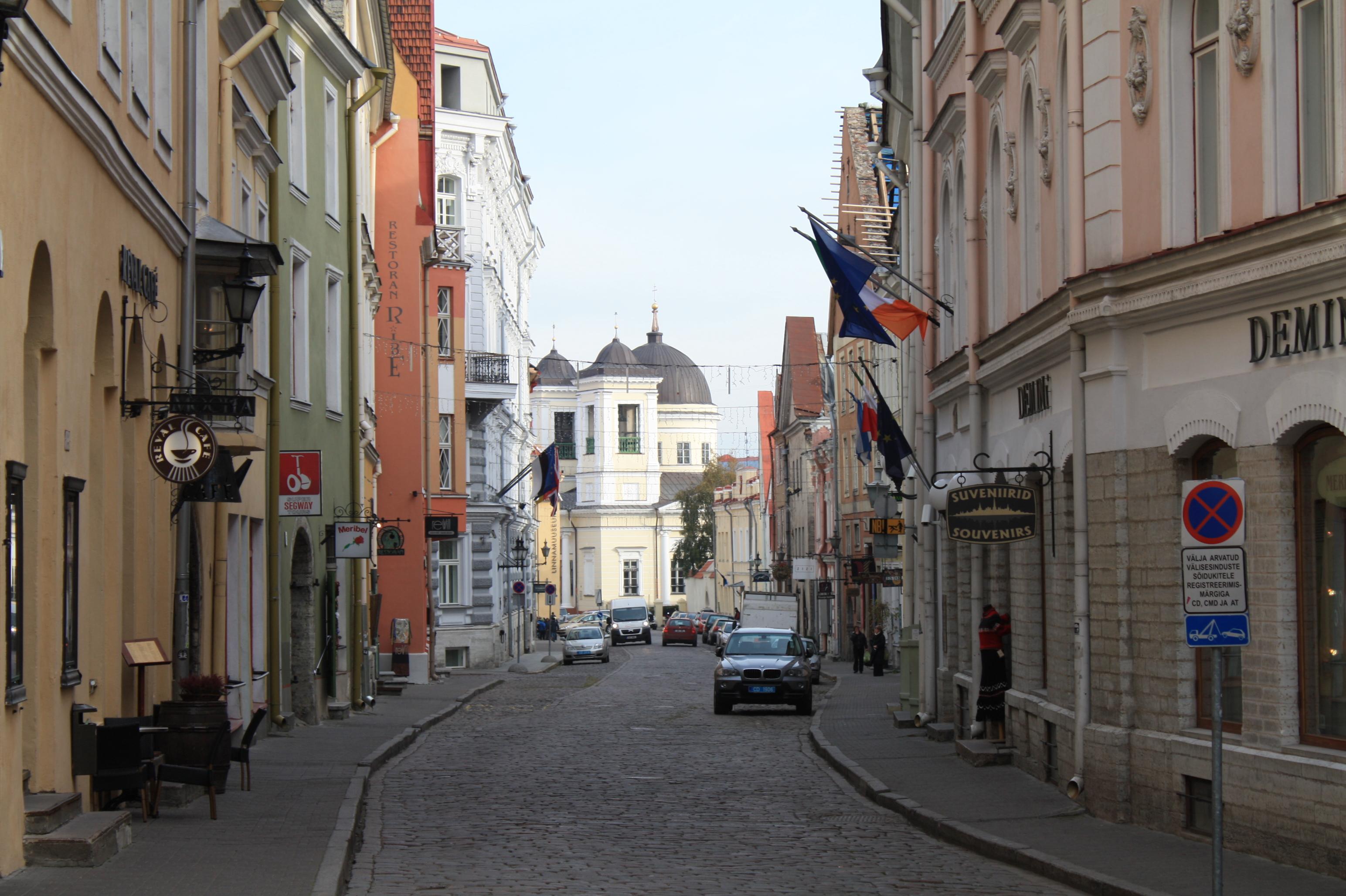 restoranid vene tänaval