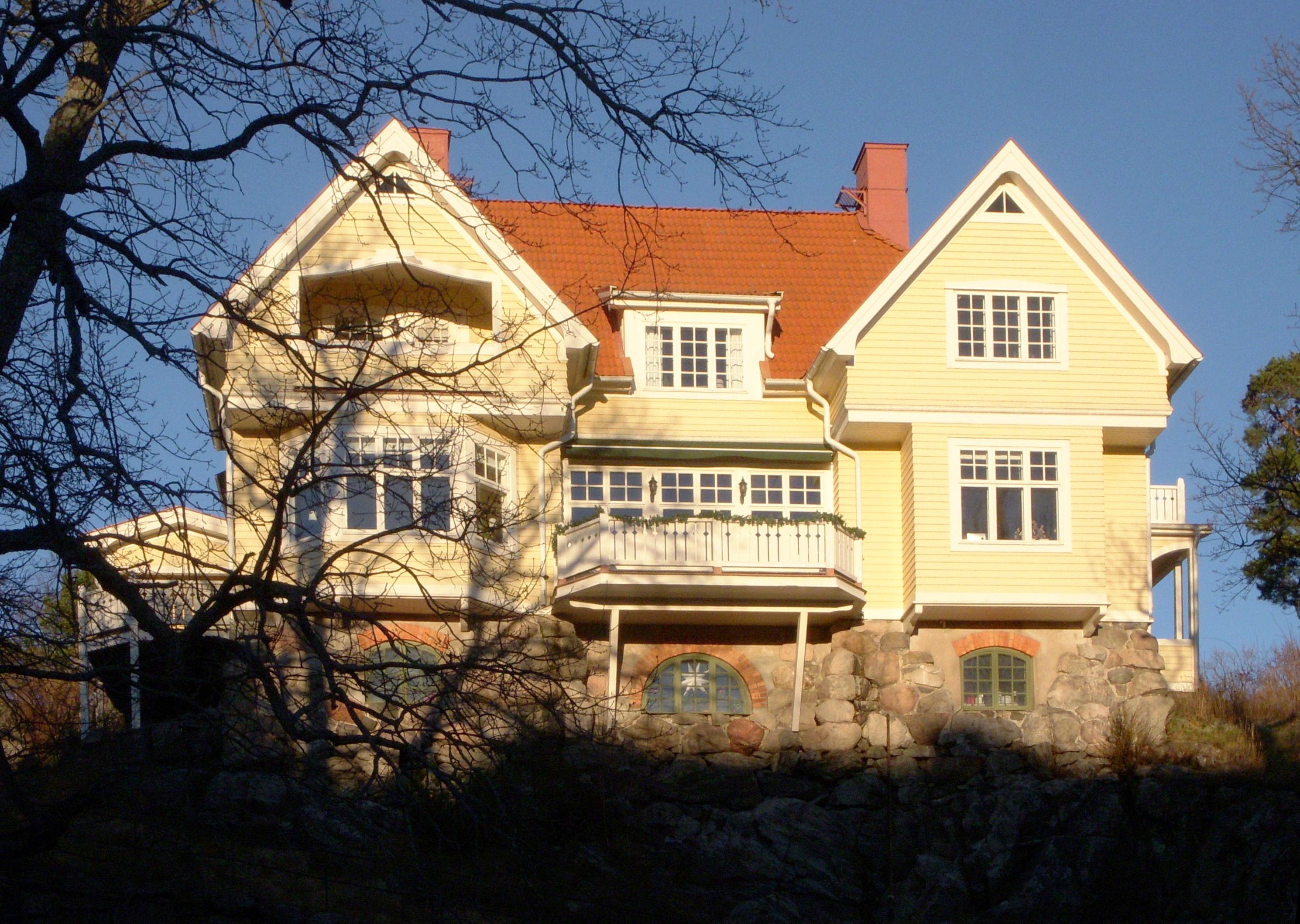 saltsjöbaden villa