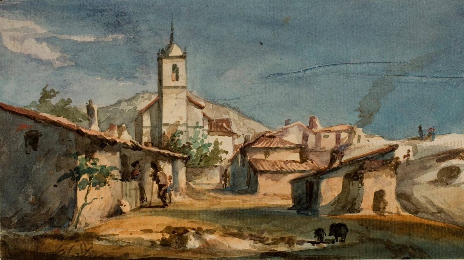 Vista de Zarzalejo con la iglesia de San Pedro Apóstol.jpg