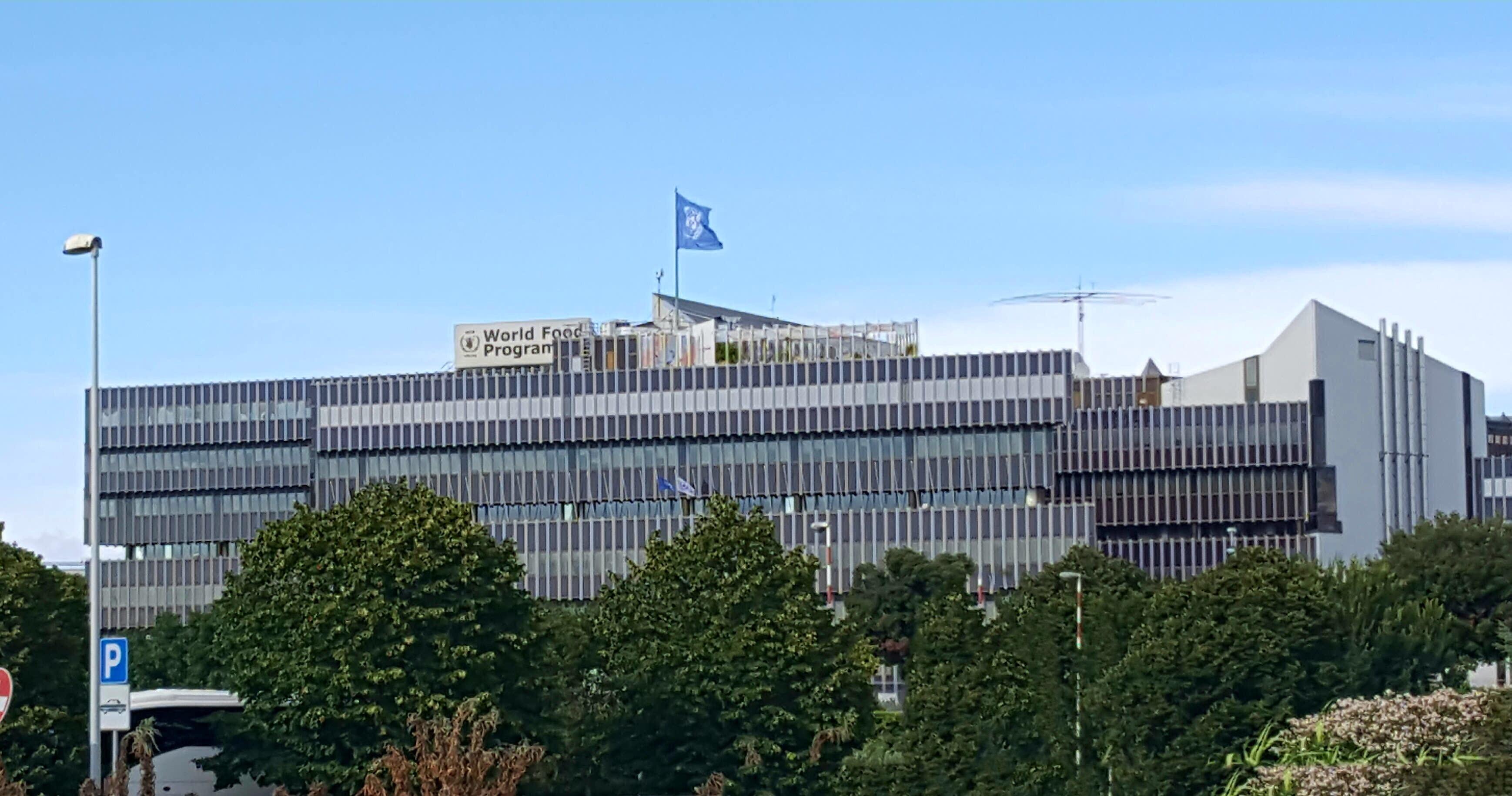 File Wfp Headquarters In Rome Jpg Wikimedia Commons