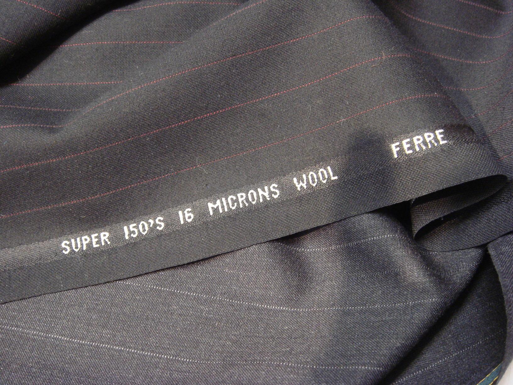 Fine blend wool fabric