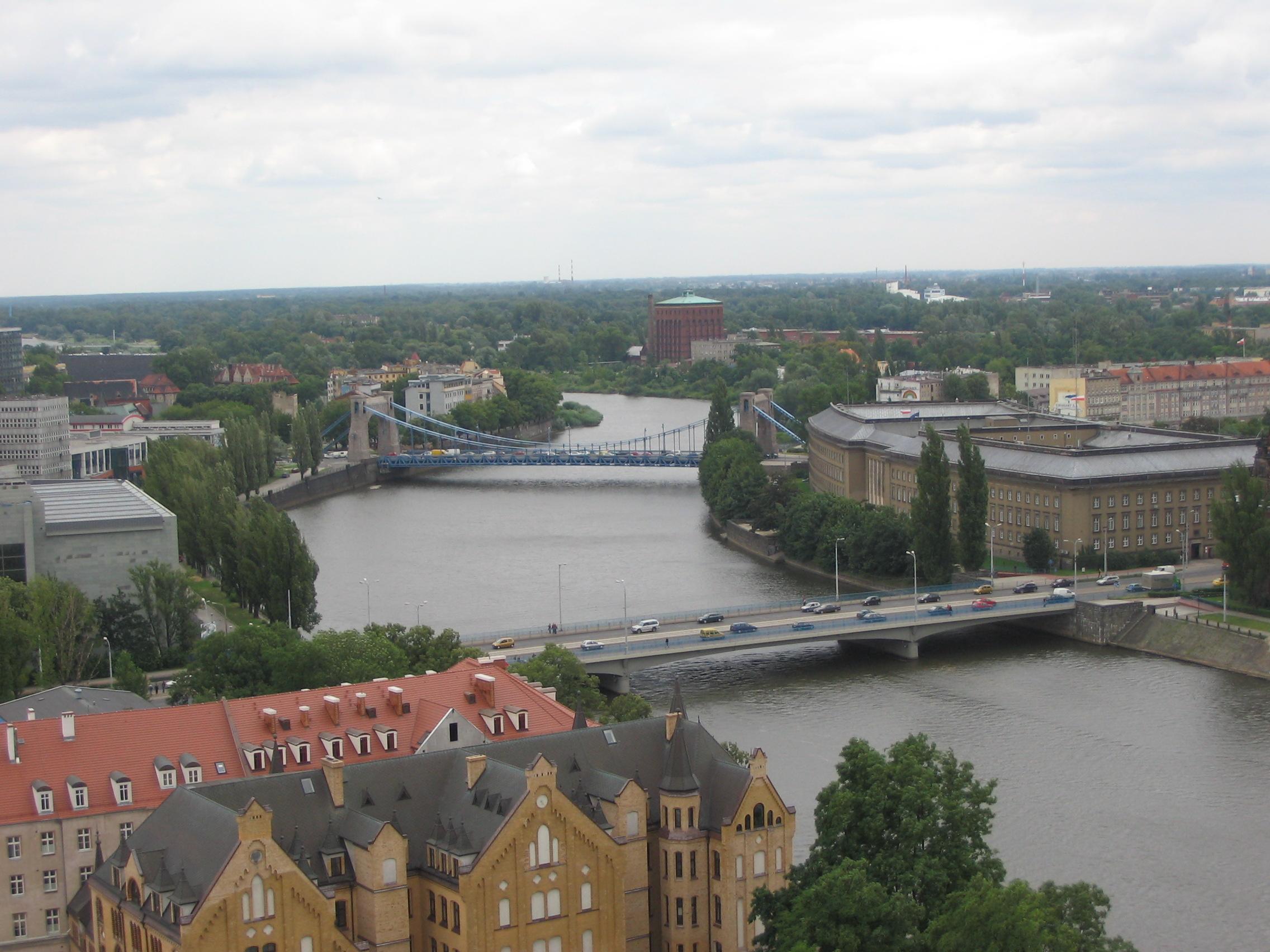 Most Grunwaldzki i Most Pokoju (Wikipedia)